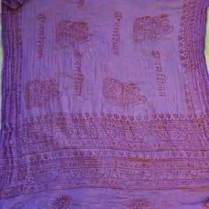 Indian mantra scarf